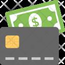 Credit Card Cash Icon
