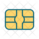 Credit card chip Icon