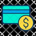 Credit Card Dollar Icon