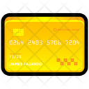Credit Card Gold Icon