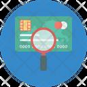 Credit Card Investigation Icon