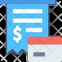 Credit Card Invoice Icon