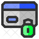 Credit Card Lock Icon