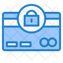 Credit Card Lock Payment Card Lock Secure Payment Icon