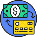 Credit Card Payment Card Payment Dollar Icon