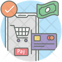 Credit Card Payment Payment Gateway Shopping Payment Icon