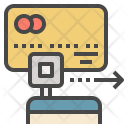 Credit-card Reader Icon