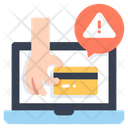 Credit Card Robbery Icon