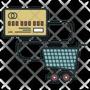 Non Cash Cashless Payment Icon