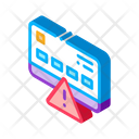 Credit Card Hacking Icon