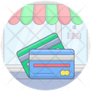 Credit Cards Bank Cards Cash Cards Icon
