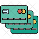 Multiple Credit Cards Credit Icon