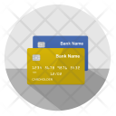 Credit Cards Gold Blue Icon