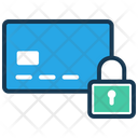 Credit Lock Credit Card Locak Protection Icon
