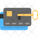 Card Lock Key Icon
