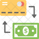 Creditcard Withdrawal Icon