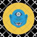 Creepy Monster Zombie Icon