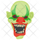 Creepy Clown Scary Clown Ghost Icon