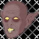 Horrible Creature Creepy Creature Frankenstein Icon
