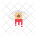Creepy Eye Blood Icon