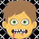 Creepy Scary Mask Icon