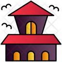 Creepy House Icon