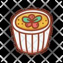 Creme Brulee Dessert Bakery Icon