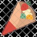 Crepe Cake Dessert Icon