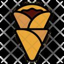 Crepe Food Dessert Icon