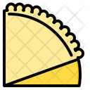 Crepe Tacos Snack Icon