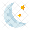 Crescent Moon Moon Eclipse Icon