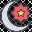 Ramadhan Crescent Islam Icon