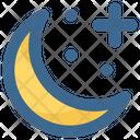 Christmas Crescent Moon Icon