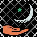 Crescent Moon Ramadan Icon