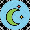 Crescent Halloween Sky Icon