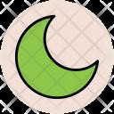 Crescent Moon Lunation Icon