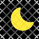 Crescent Moon Waning Icon
