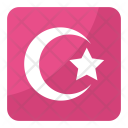 Crescent Star Iconographic Icon