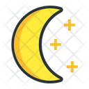 Crescent Moon Night Icon