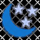 Crescent Moon Ramadan Lantern Icon