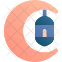 Crescent Moon Lantern Icon
