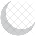 Crescent Lunar Moon Icon