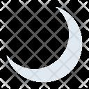 Crescent Moon Muslim Icon