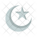 Crescent Moon Islam Icon