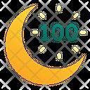 Crescent Moon Icon