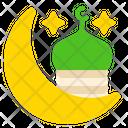 Crescent Mosque Icon