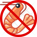 Crevette Crustacean Allergy Icon