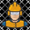Crew Asian Construction Construction Crew Icon