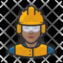 Crew Female Construction Crew Female Icon