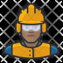 Crew Male Construction Construction Crew Icon